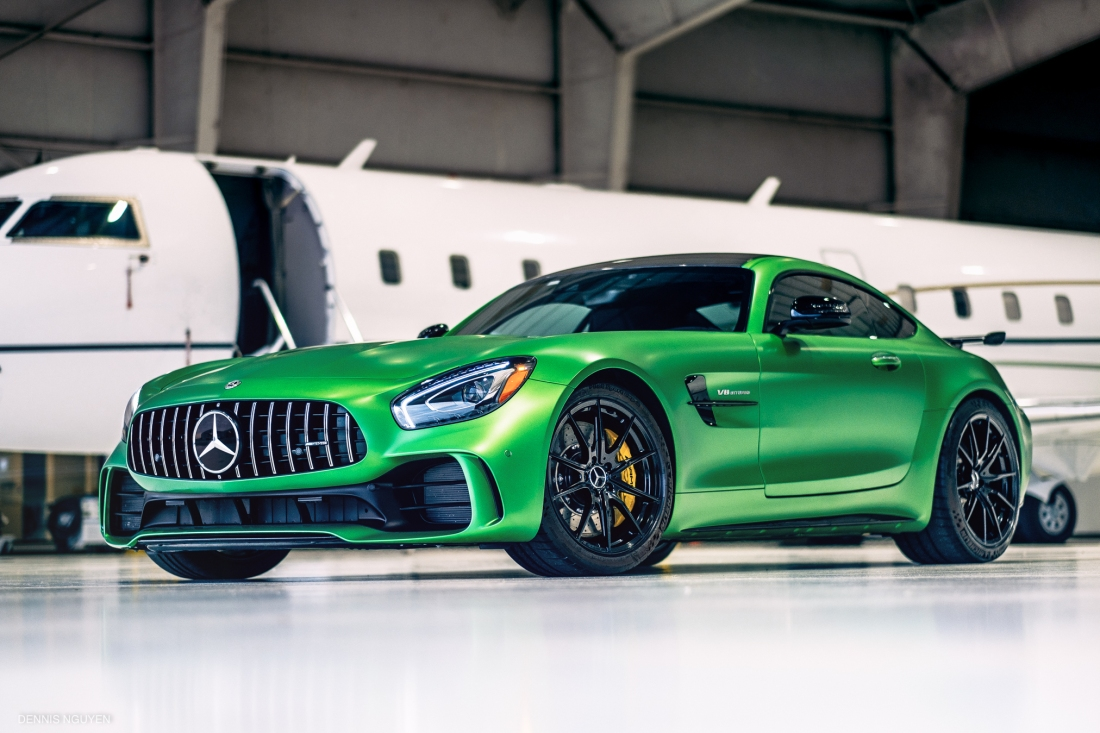Mercedes-Benz AMG GTR Green Hell-1