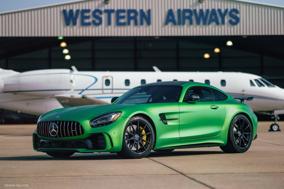 Mercedes-Benz AMG GTR Green Hell-9